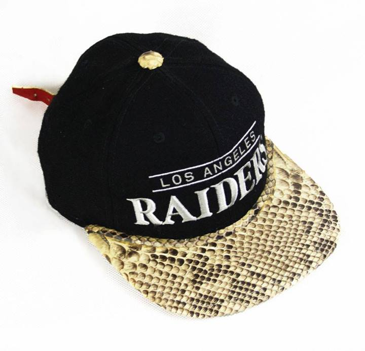 8f163c47d42ab The snakeskin would be sewn or glued directly to the top of the brim