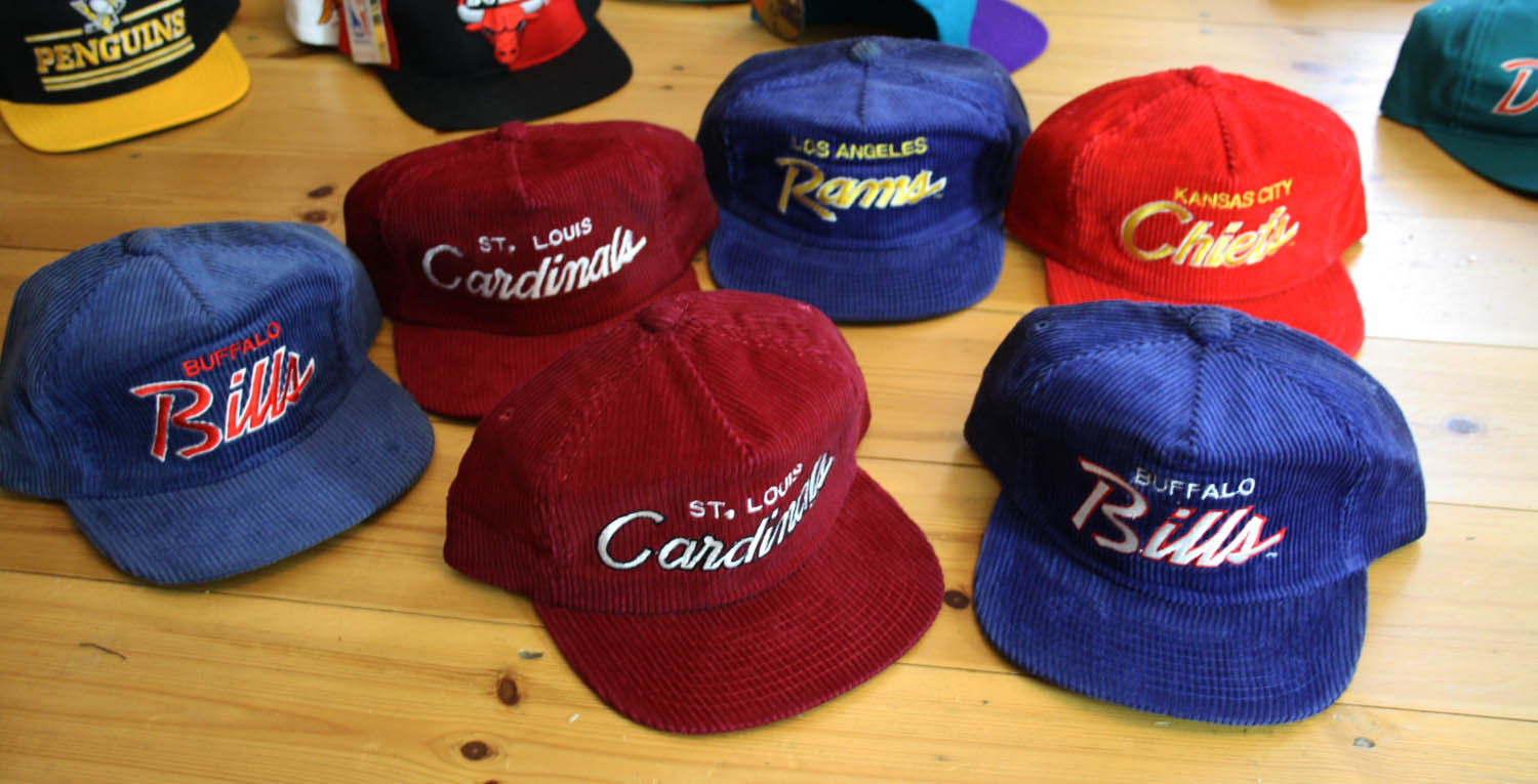 "a0a6546f726 We just got in a bunch of Sports Specialties ""The Cord"" script snapbacks"
