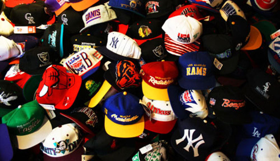 791de225 The 59Fifty cap by New Era was the staple, as hats moved to higher profile  fits ...
