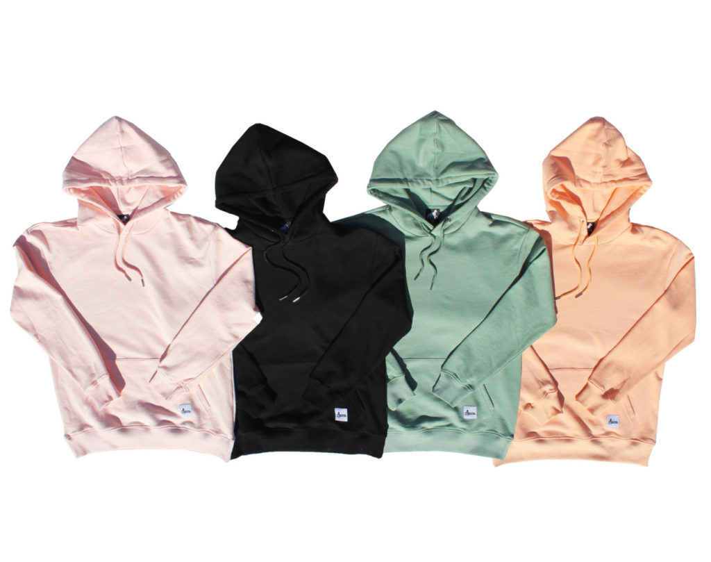Tonal hoodies