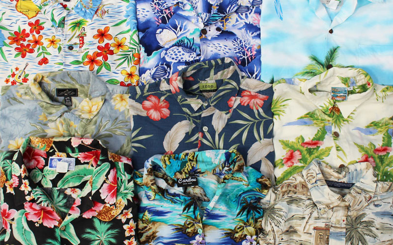 vintage hawaiian shirts tropical