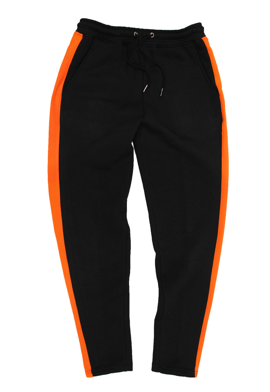 All Black Clothing >> Agora: Shop: Stripe Sweatpants Stripe Joggers