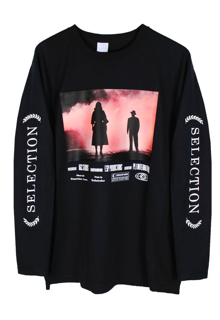 T shirts film noir long sleeve agora clothing shop for Film noir t shirts