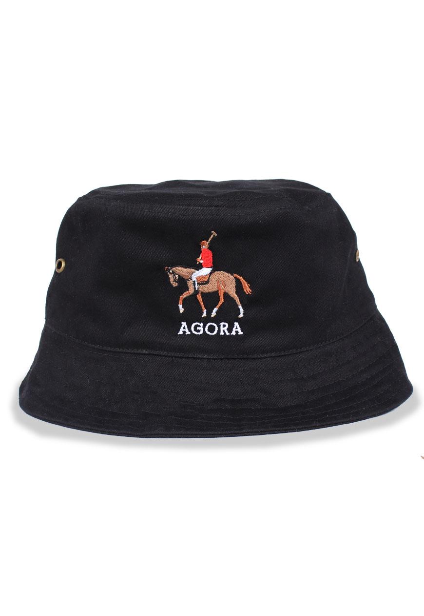 c08fb865ff2 Shop    Agora    Hats    Bucket Hats    Polo Bucket Hat - Agora Clothing -  Shop - Products