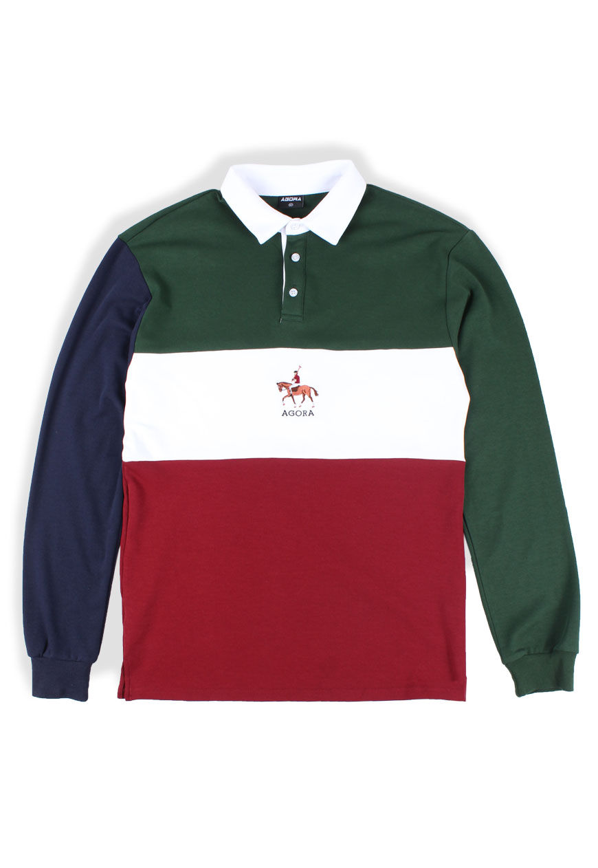 68ab2bf8d7c Agora :: Polo Colour Block Rugby - Agora Clothing - Shop - Products