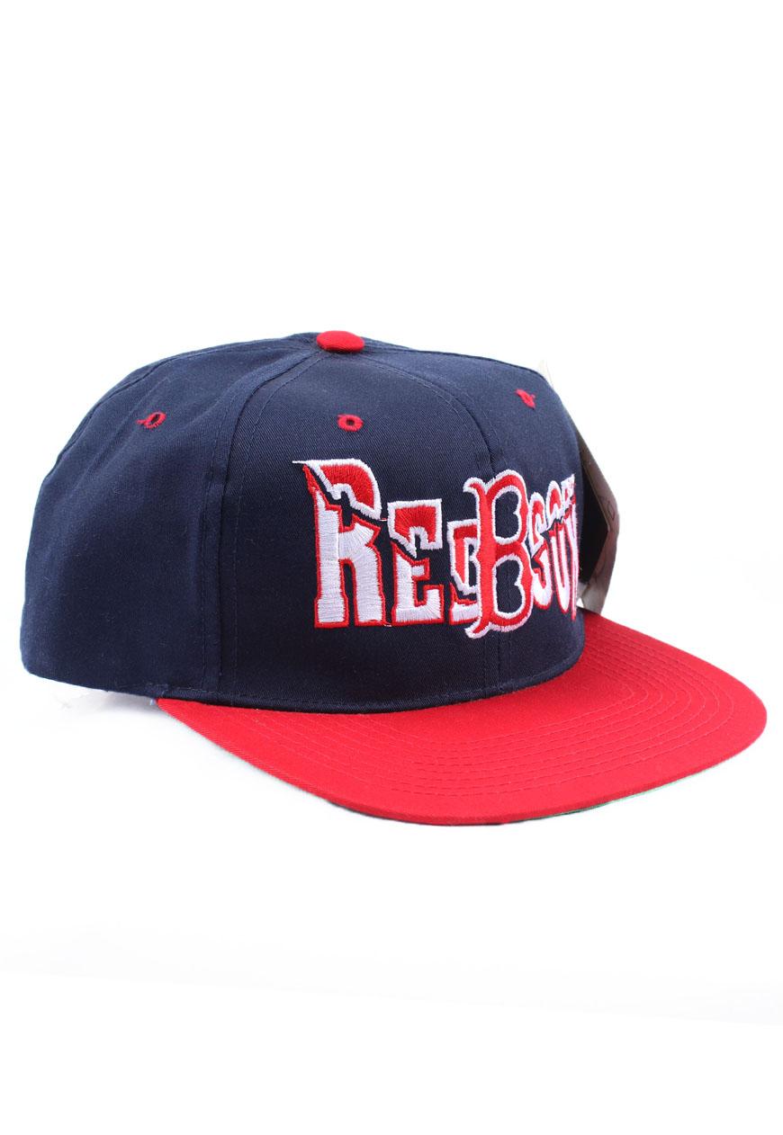 a2fbe9428bf44 Shop    Vintage   Branded    Snapbacks    Vintage Boston Red Sox Snapback -  Agora Clothing - Shop - Products