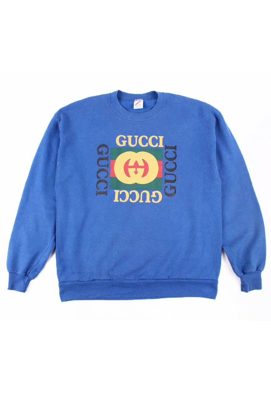 2123bbfcd59 Shop    Vintage   Branded    Shirts    Vintage Gucci Bootleg (M) - Agora  Clothing - Shop - Products