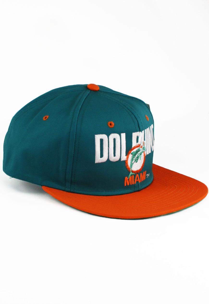 d103b23da67c4 Vintage 1993 Miami Dolphins Amcap Snapback Hat