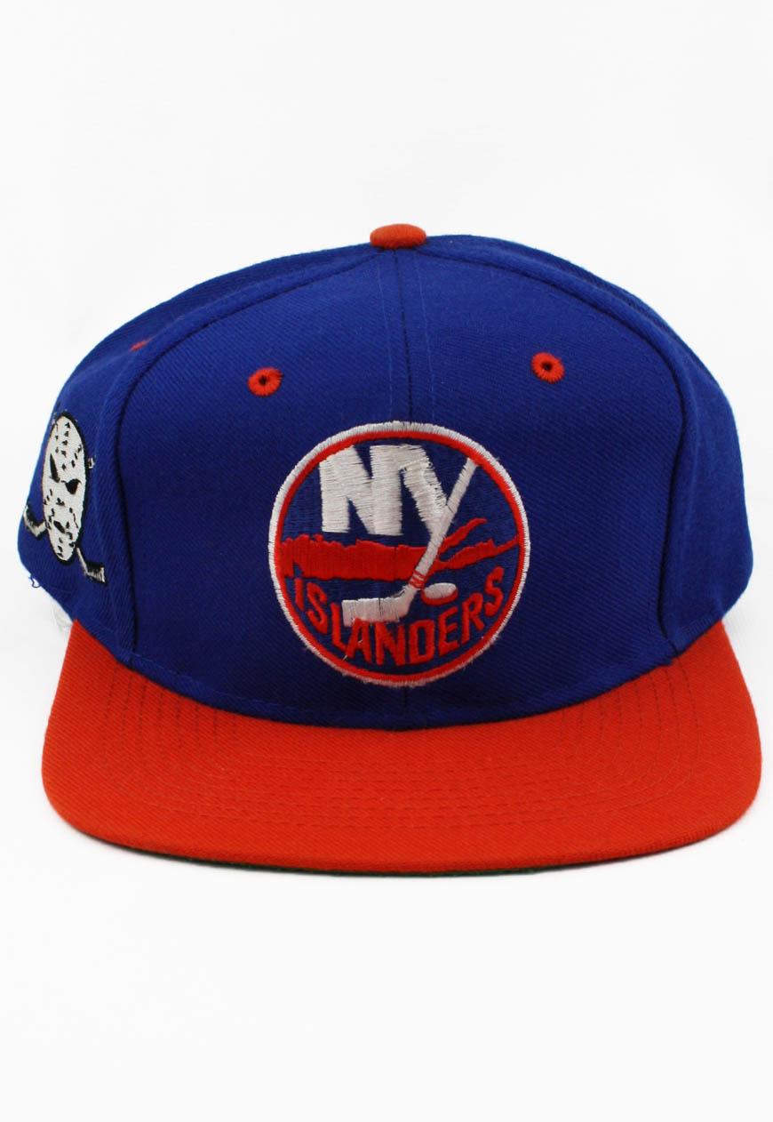 Vintage New York NY Islanders Logo 7 Snapback Hat