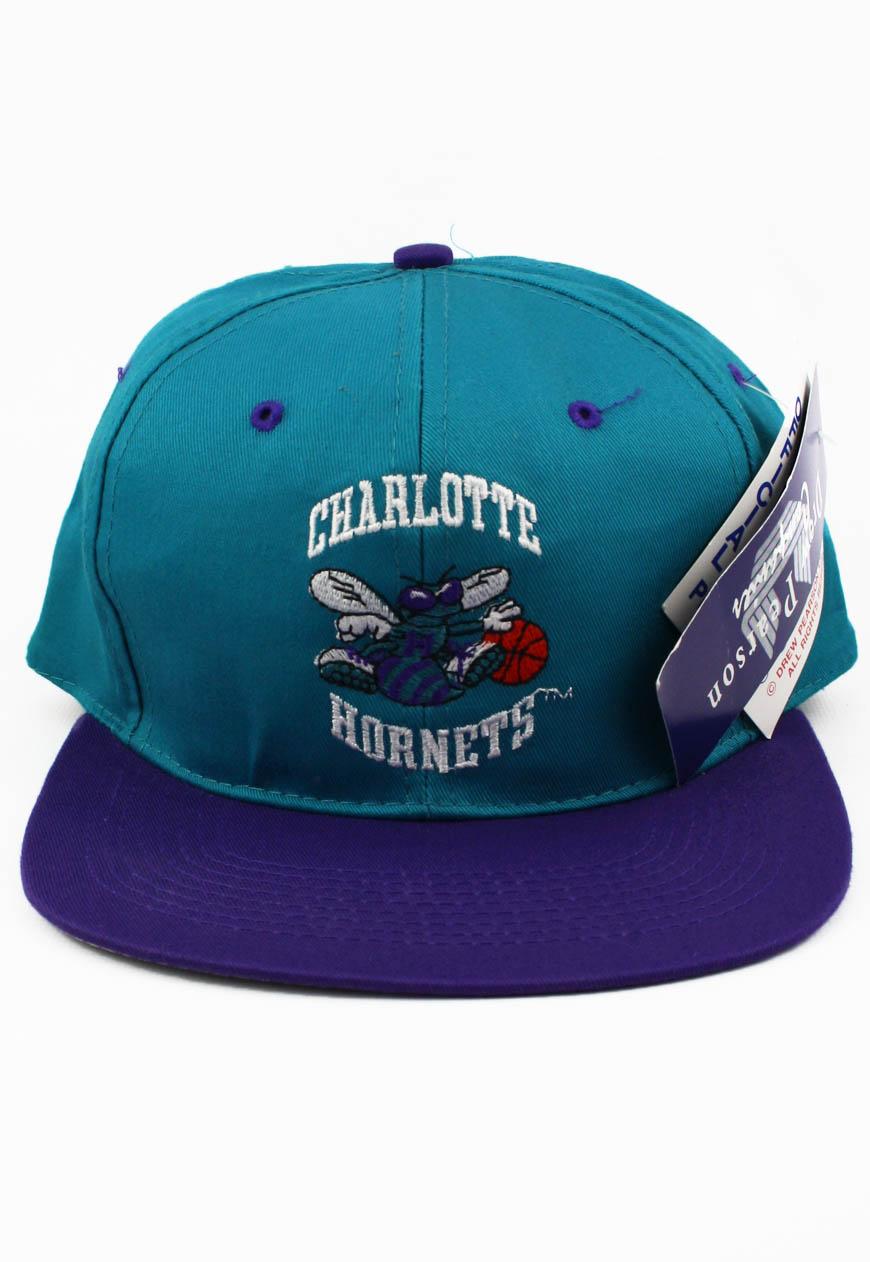 Vintage Snapbacks Charlotte Hornets Snapback Hat