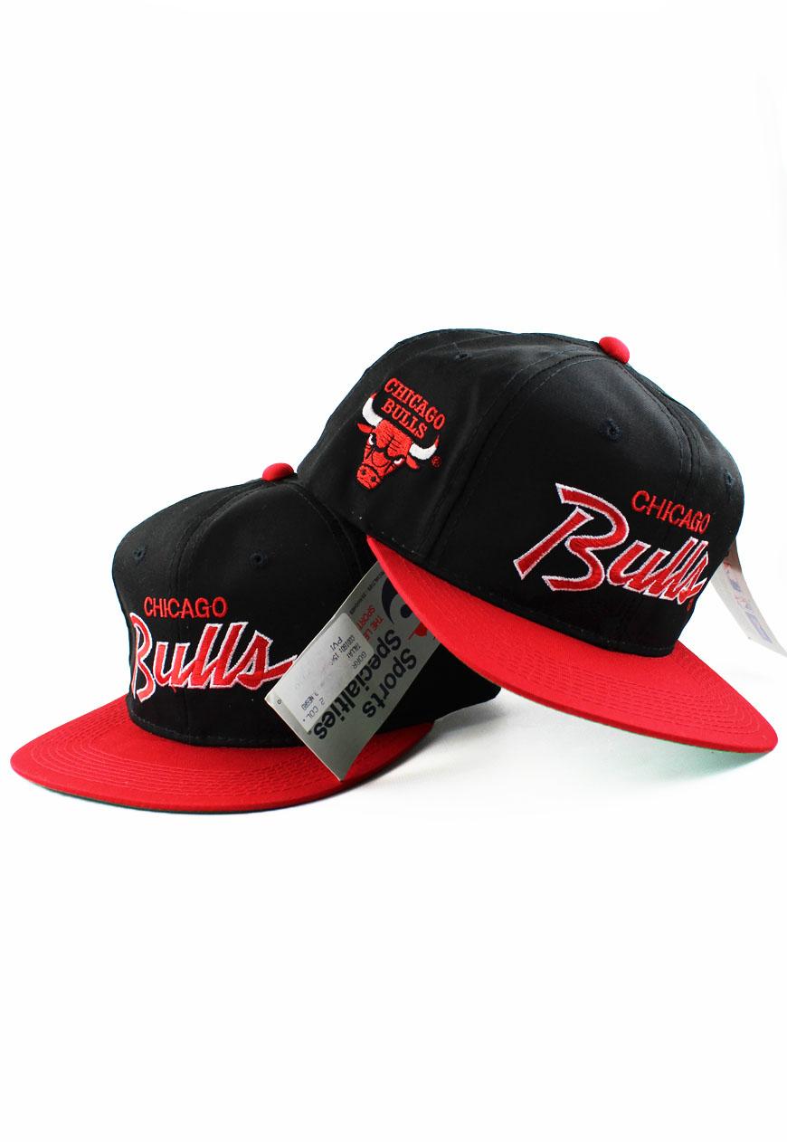 Shop :: Vintage / Branded :: Snapbacks :: Chicago Bulls Sports Specialties Script Snapback Hat ...