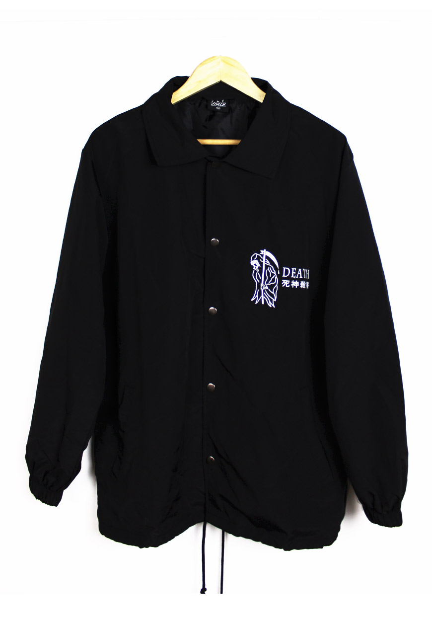 Death grim reaper coach jacket for Coach jacket
