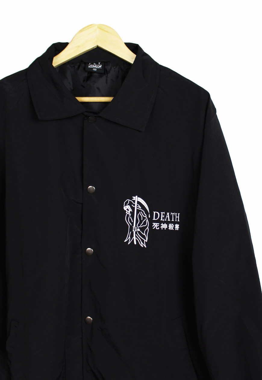 Death Grim Reaper Coach Jacket.