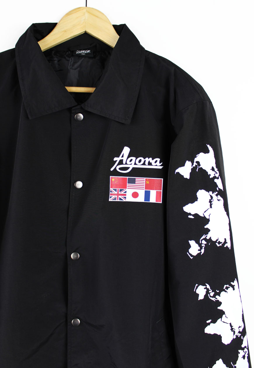 Shop agora jackets explorer coach jacket agora for Coach jacket