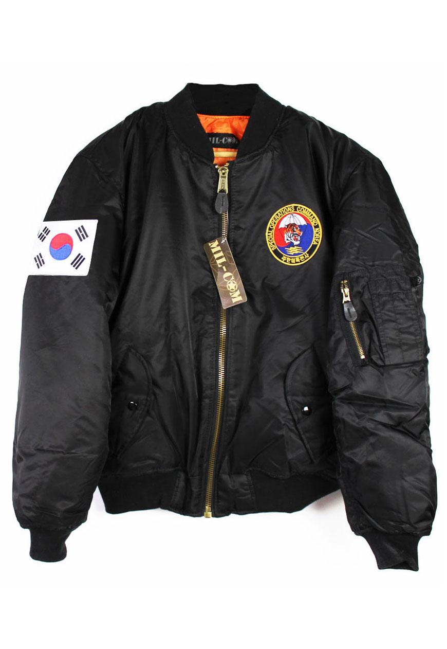 Special Ops Korea MA-1 Bomber Jacket