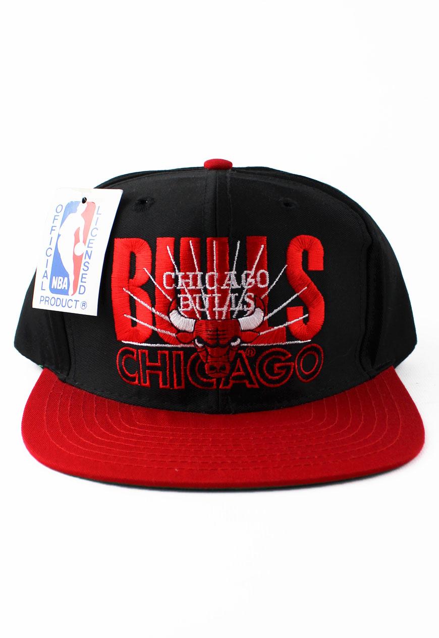 Shop :: Vintage / Branded :: Snapbacks :: Vintage Chicago Bulls AJD Snapback Hat - Agora ...