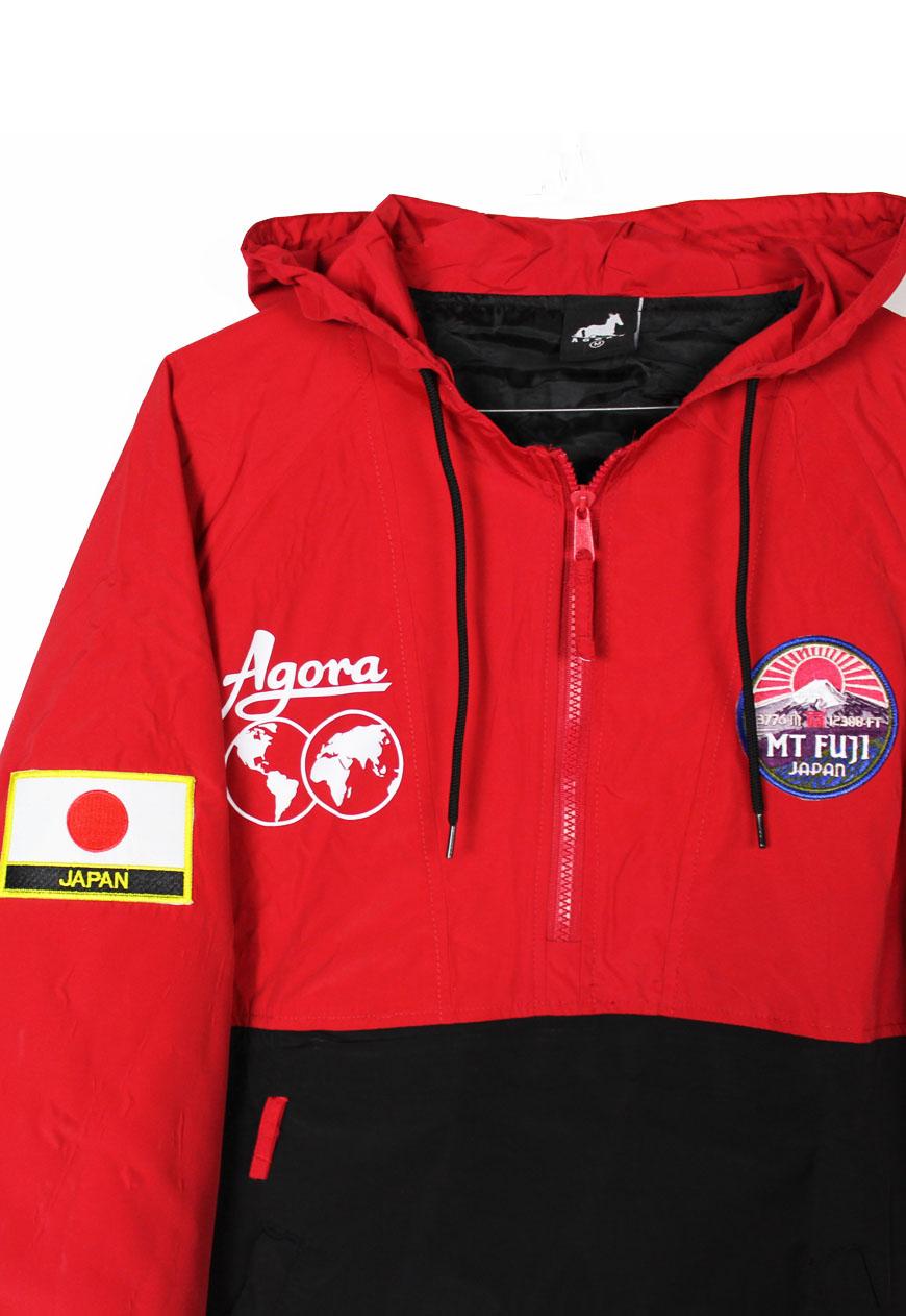 Shop Agora Jackets Mt Fuji Pullover Jacket