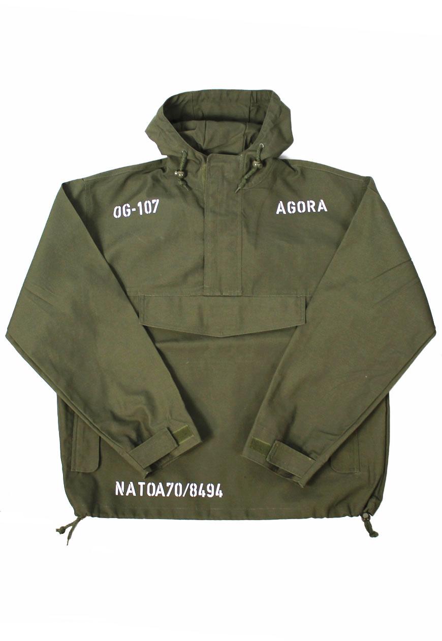Agora Military Pullover Jacket