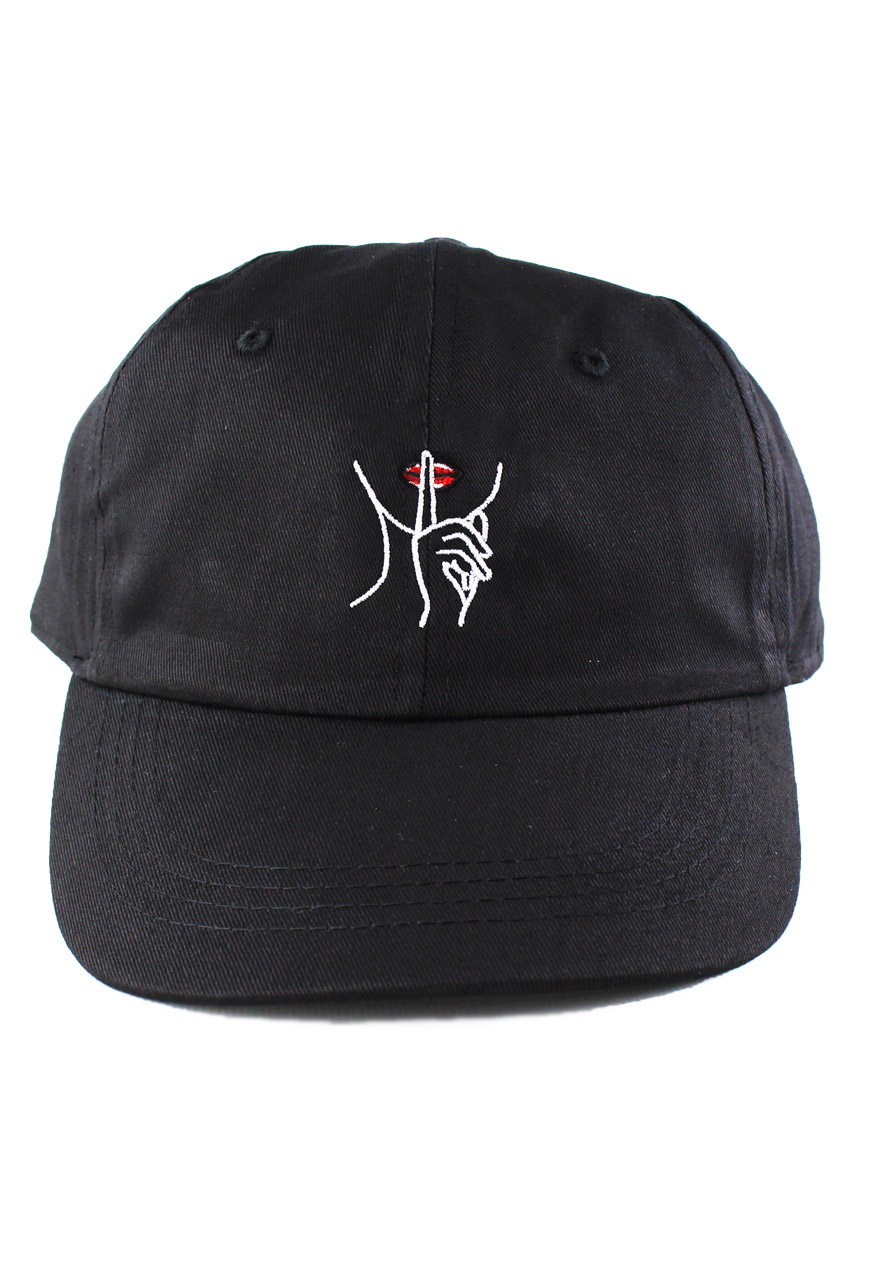 0b2500a8c3c Hush 6 Panel Cap. Embroidered Dad Hats UK